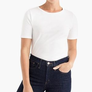 J. Crew Slim Perfect T-Shirt Short-sleeve, White